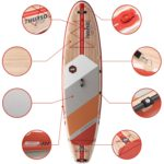 stand up paddle board waterwalker 120 crimson feature thurso surf