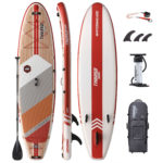 stand up paddle board waterwalker 120 crimson package thurso surf