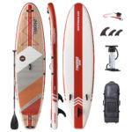 stand up paddle board waterwalker 126 crimson package thurso surf
