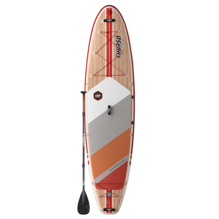 stand up paddle board waterwalker 132 crimson thurso surf main