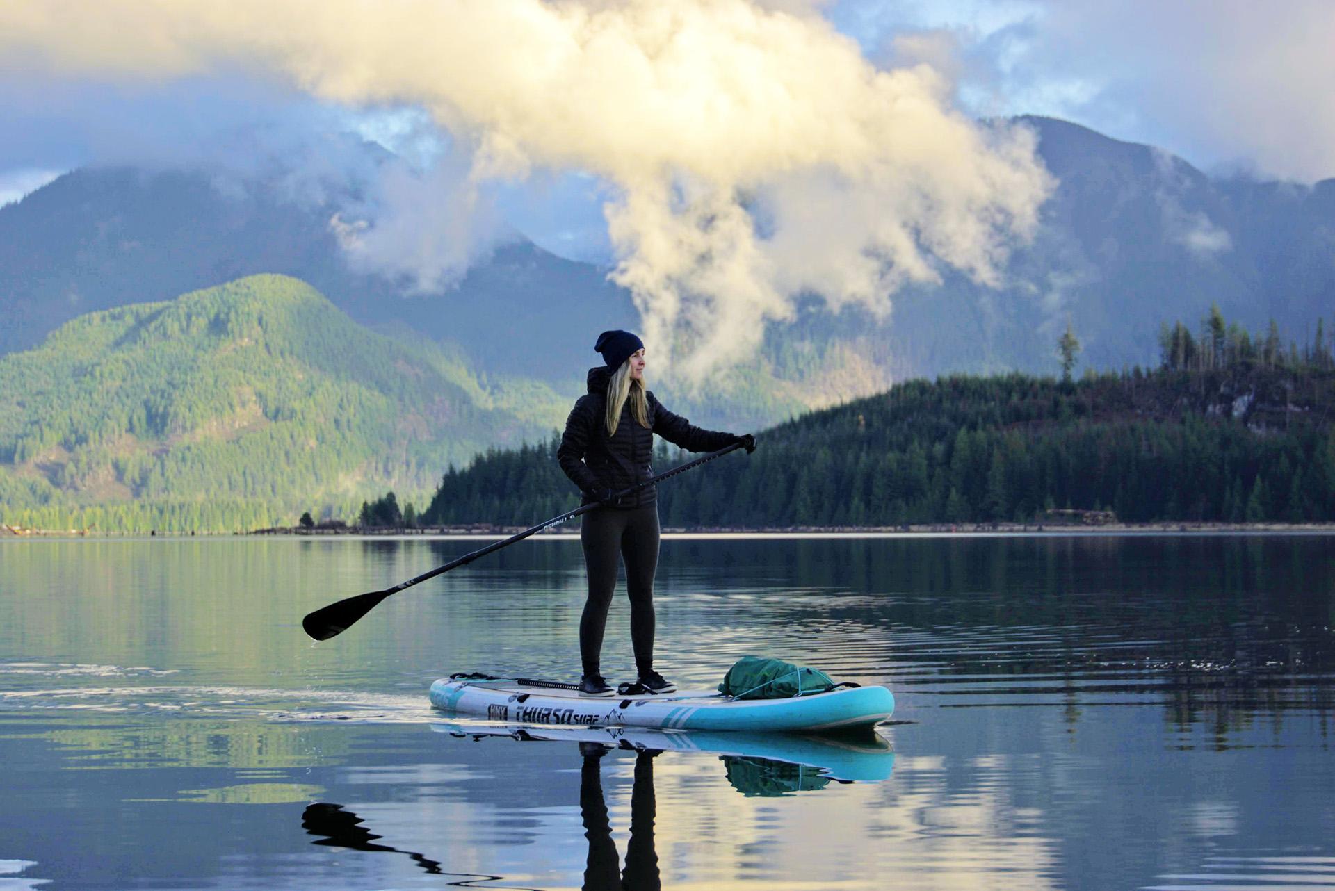 thurso surf ambassador kristine paddle board outdoor explore