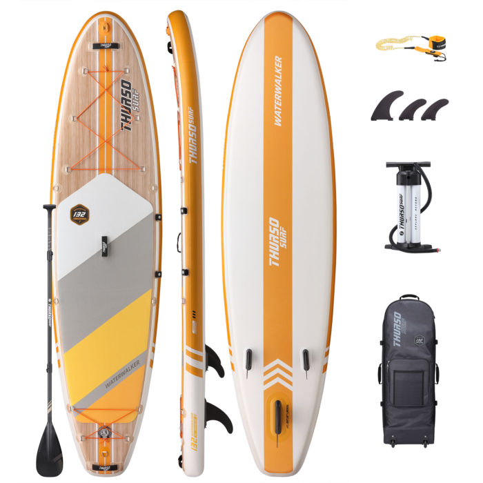 stand up paddle board waterwalker 132 tangerine package thurso surf