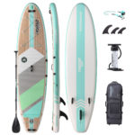 stand up paddle board waterwalker 126 turquoise package thurso surf