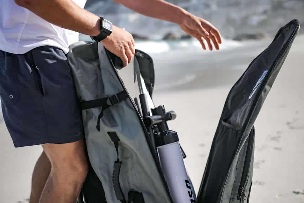 SUP roller backpack board bag