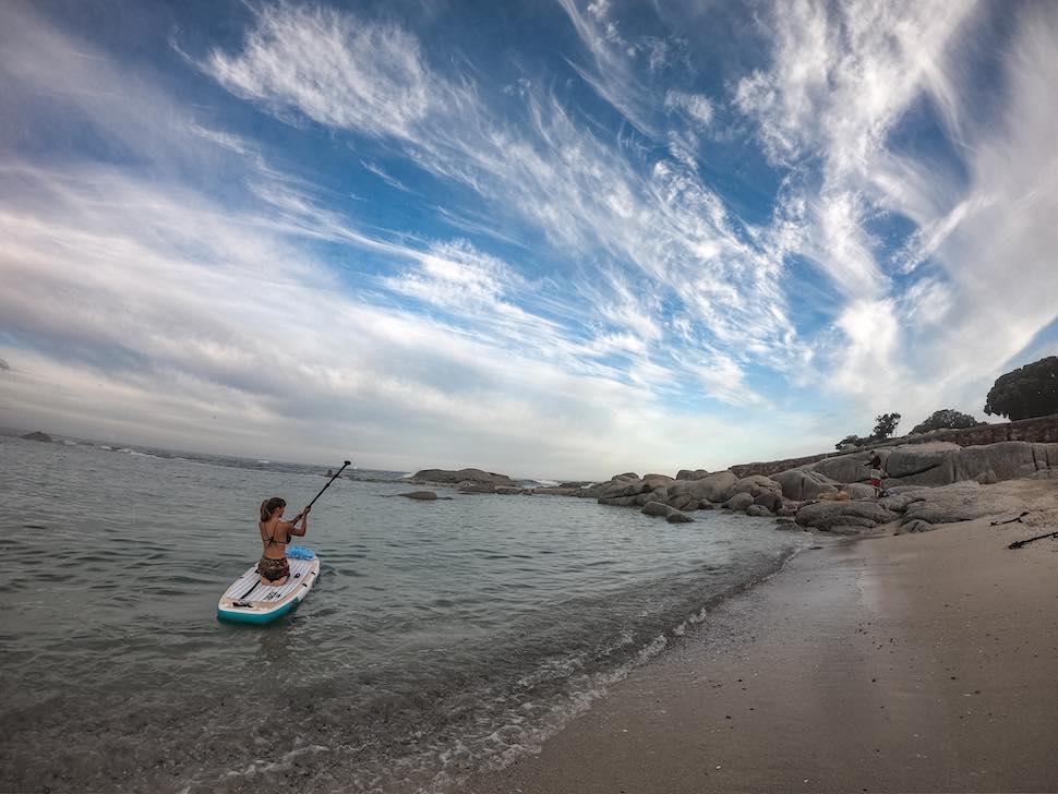 thurso surf tranquility yoga sup kneeling
