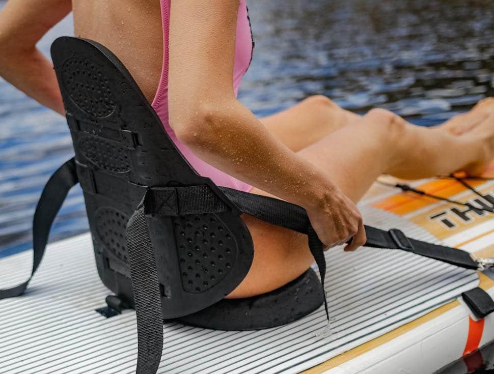 thurso surf waterwalker 120 all-around kayak seat adjust