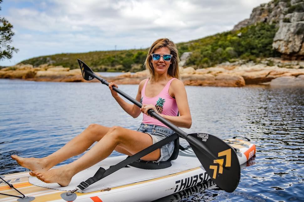 thurso surf waterwalker 120 all-around kayak seat paddling river