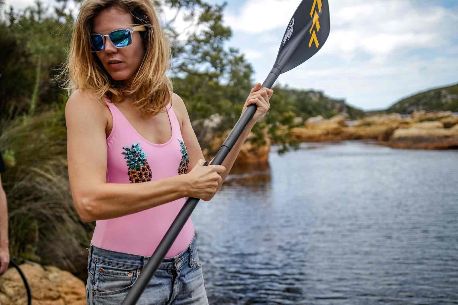 How to Hold a SUP Paddle