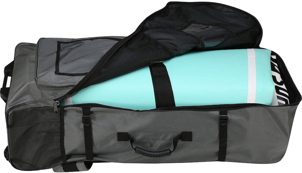 Thurso Surf Roller backpack main compartment