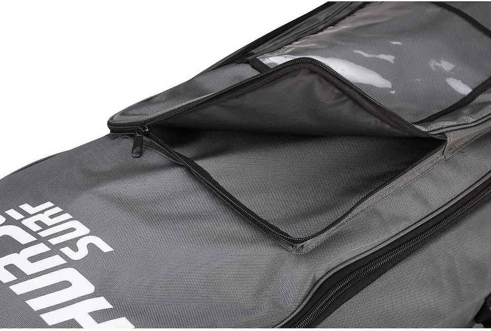Thurso Surf roller backpack front pocket