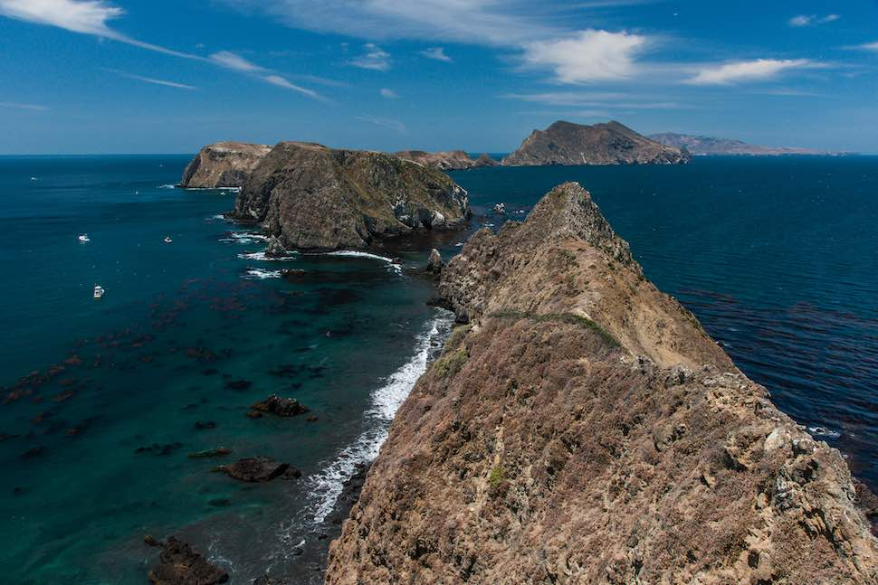 Camp with your SUP at Channel Islands National Park, California