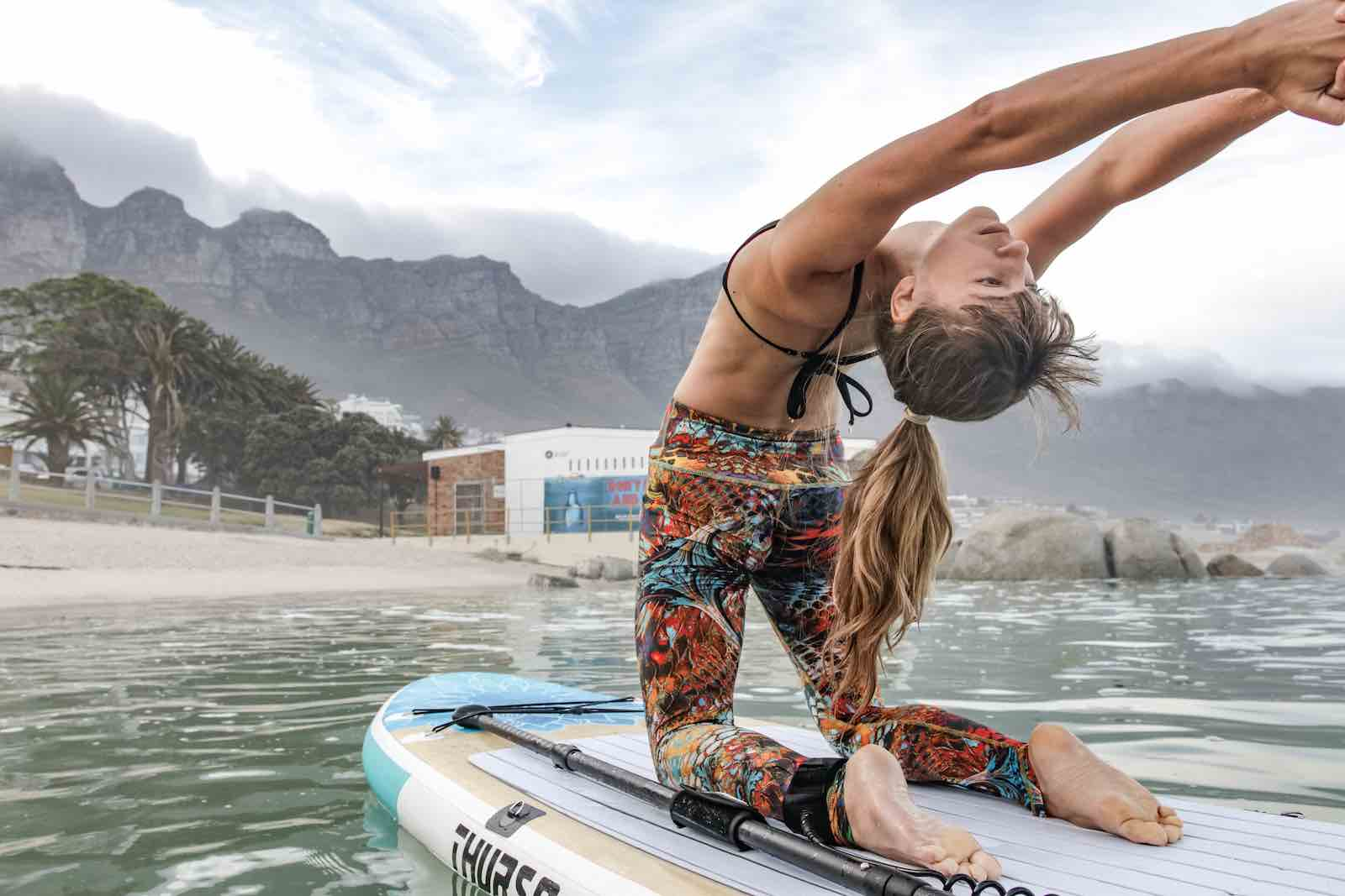 SUP Boards Yoga: The Benefits of Yoga on a Paddle Board